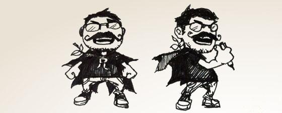 Superhero Wen-M or Evil Villain Wen-M