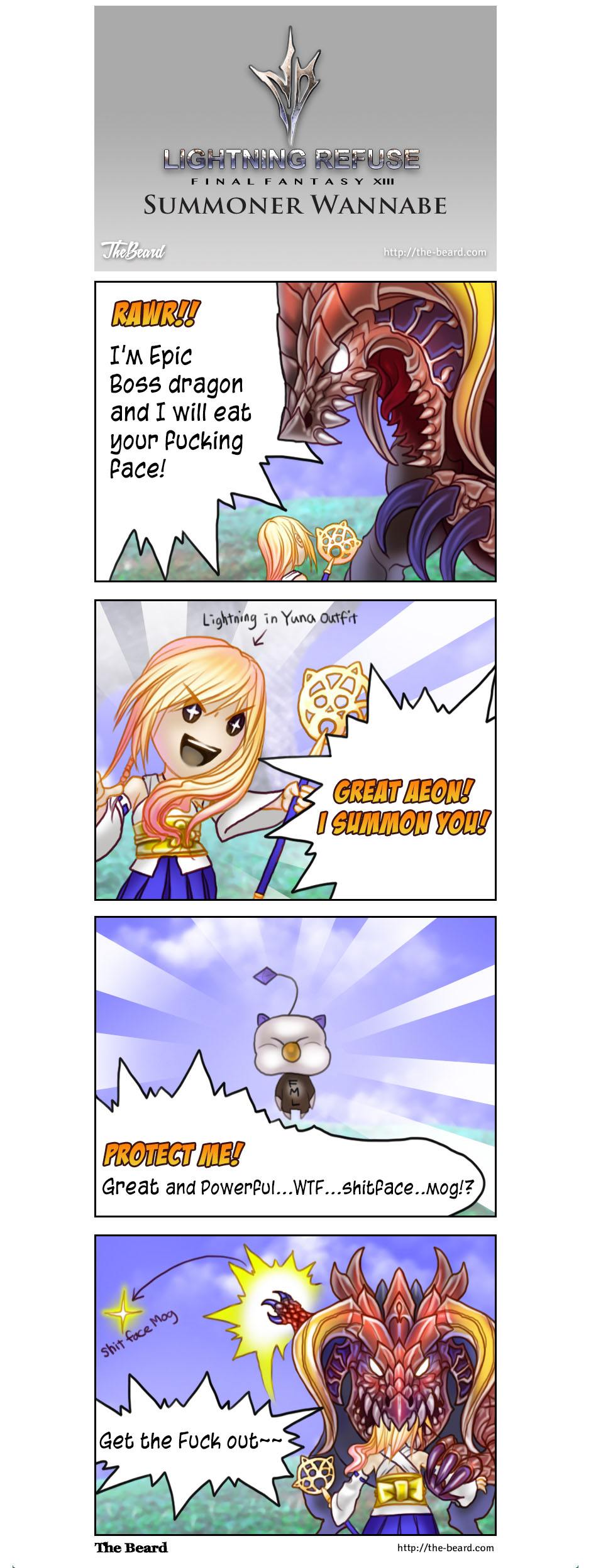 FFXIII-3 comic - Wearing Yuna