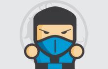 Mortal Kombat Ninjas - Scorpion, Sub-Zero, Reptile, Ermac, Rain, Smoke, Noob Saibot