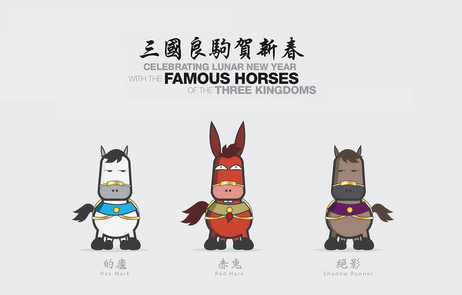 Celebrating Lunar New Year with the Famous Horses from the Three Kingdoms