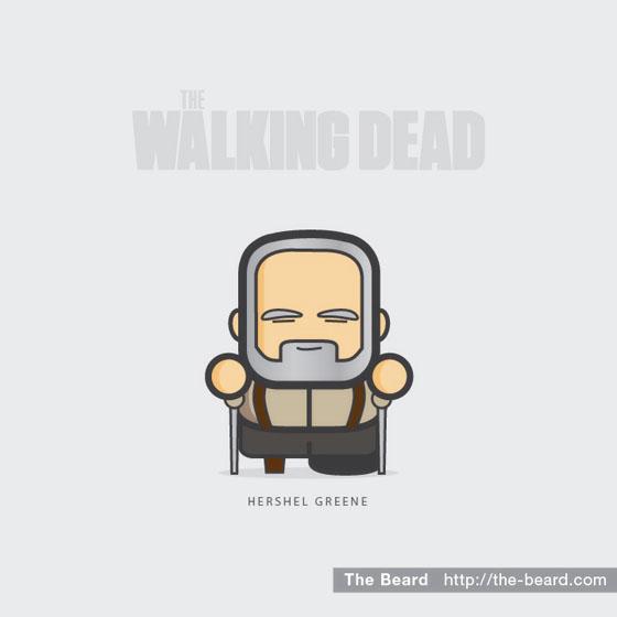 The Walking Dead - Hershel Greene