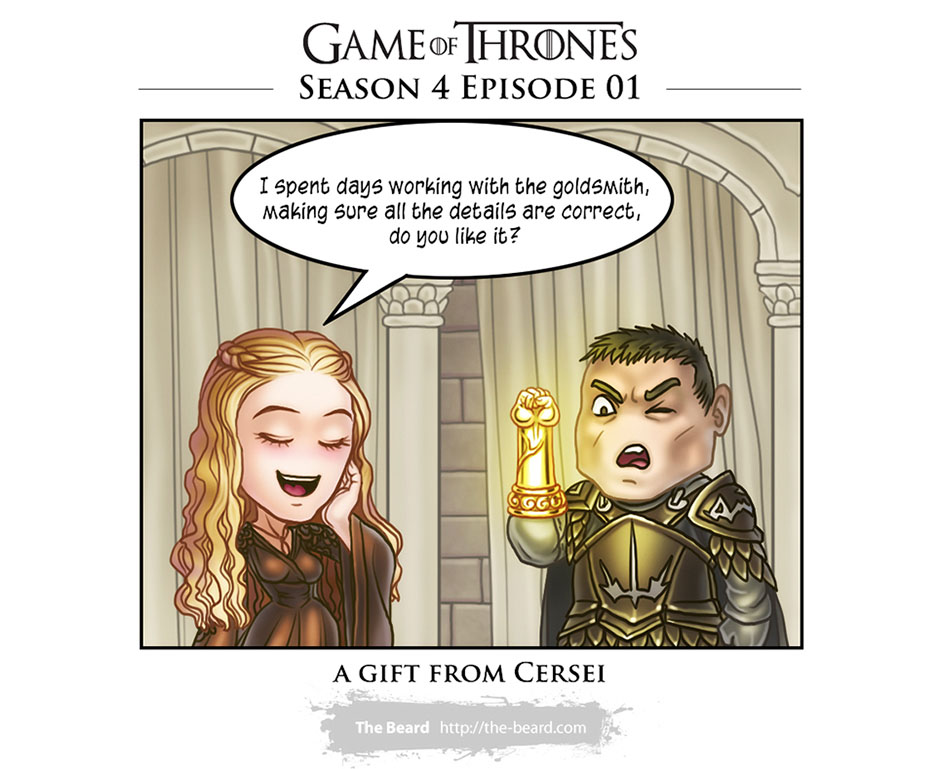 Game of Thrones S04E01-Cerseis Gift