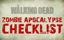 The Walking Dead - zombie apocalypse checklist thumb