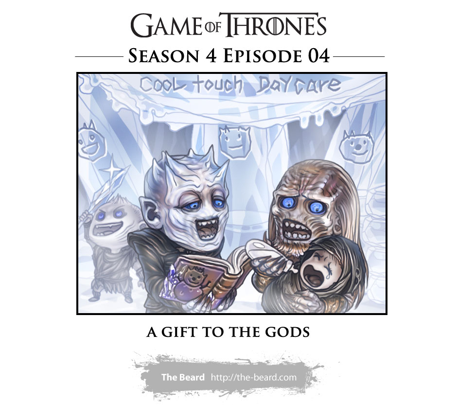 Game of Thrones Season 4 Ep4 - A Gift for the Gods