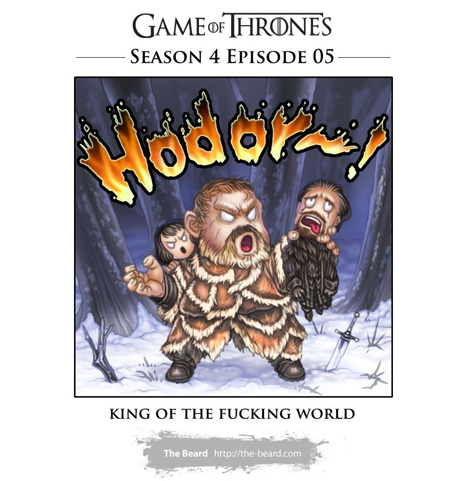 Game of Thrones Season 4 Ep5 - Hodor!!!