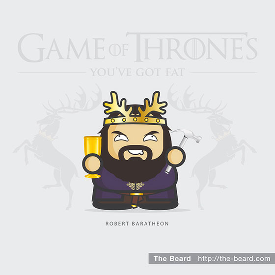 Game of Thrones - Robert Baratheon