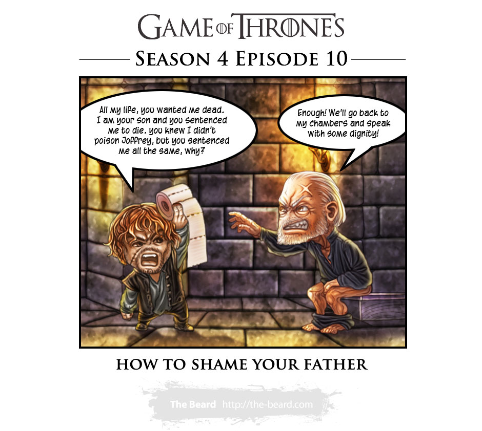 Game of Thrones Season4 Ep10 - How to Shame Your Father