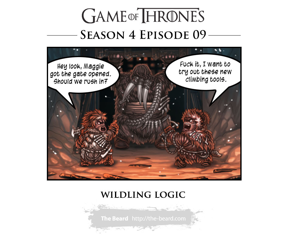 Game of Thrones Season 4 Ep.9 - Wildling Logic