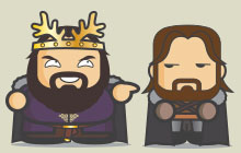 Game of Thrones - Asshole Robert Baratheon