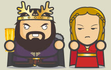 Game of Thrones - Asshole Robert Baratheon2 thumb