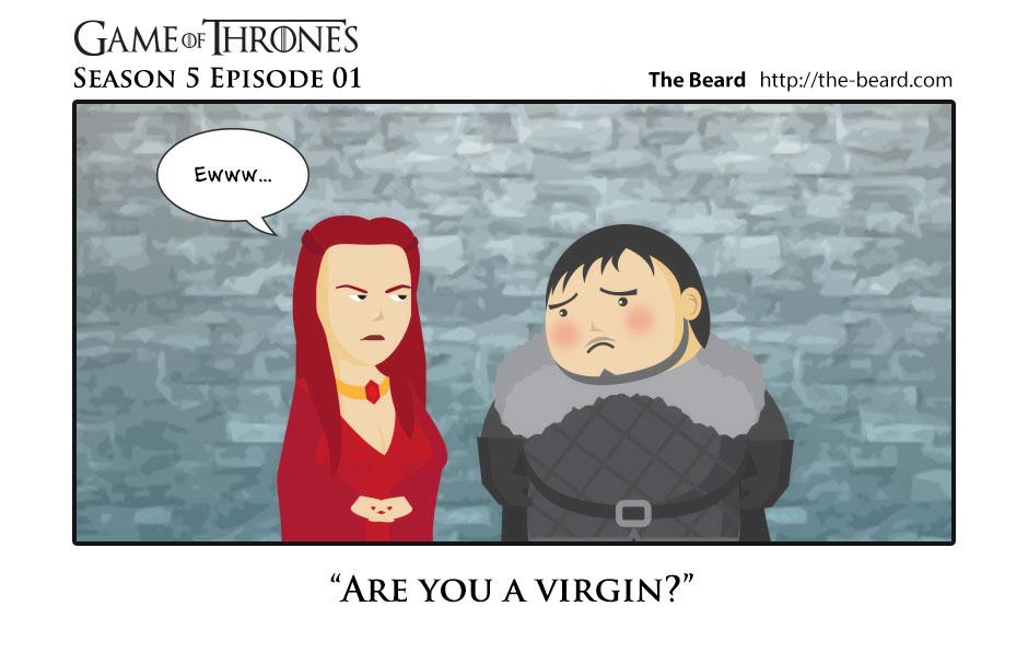 Game of Thrones S5E01 - Are you a virgin?