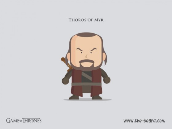 Game of Thrones - Thoros of Myr