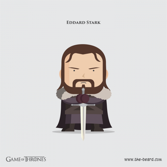 Game of Thrones - Ned Stark2-01