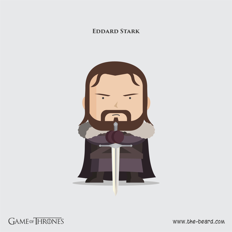 Game of Thrones - Ned Stark2-01