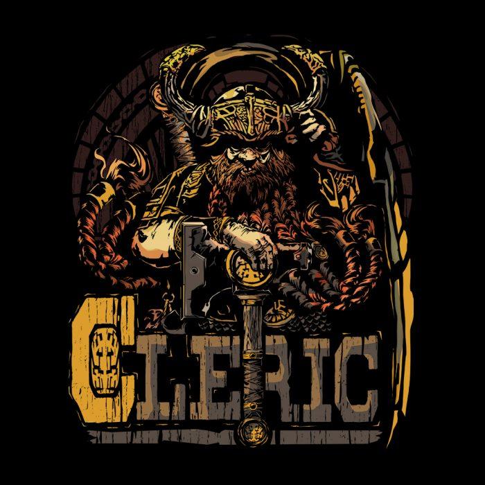 Dwarven Cleric D&D Shirt