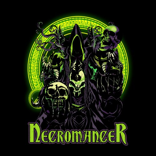 Necromancer Dungeons Dragons D&D Shirt