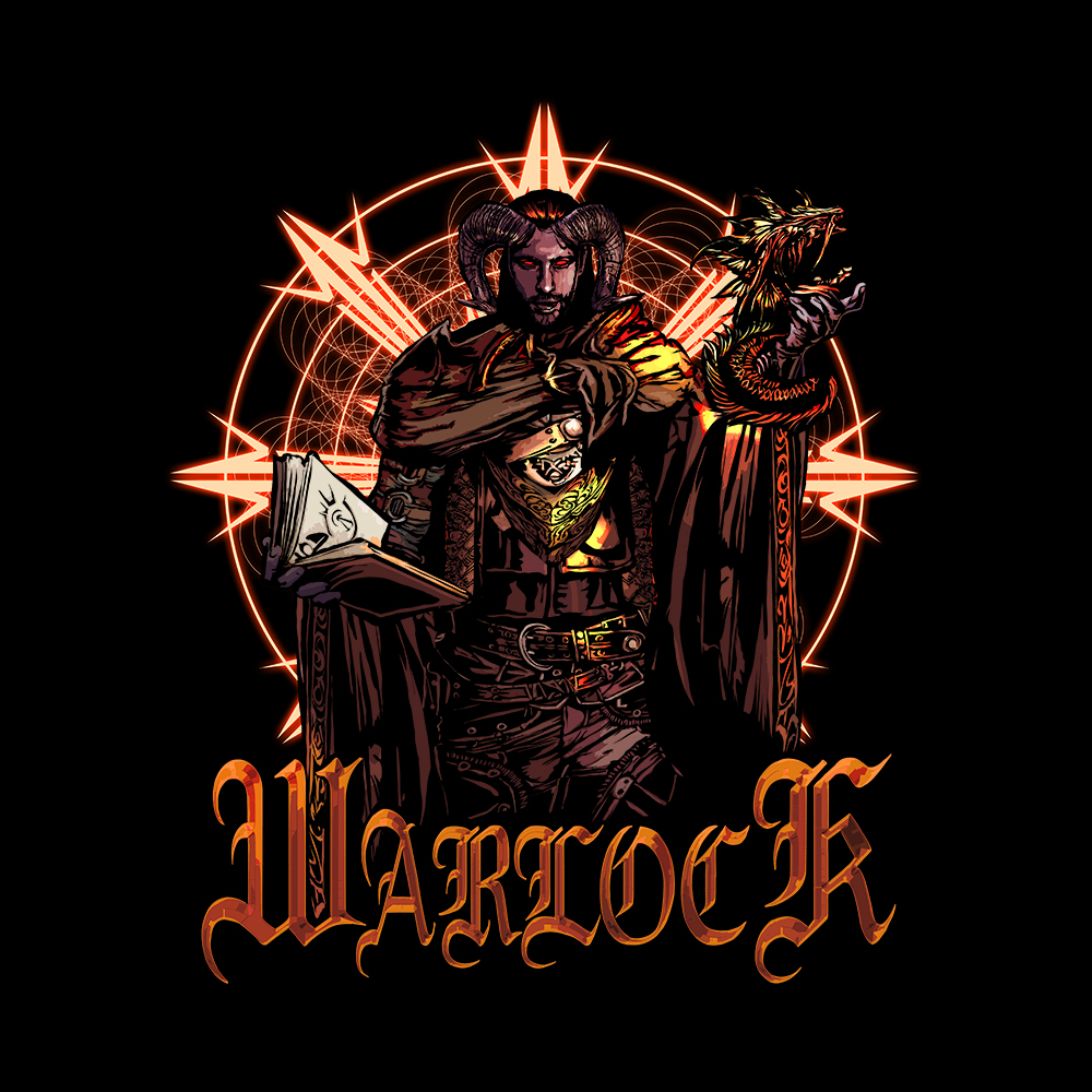 Tiefling Warlock Dungeons Rpg Gamer T Shirt The Beard Studio Zariel tiefling is the closest you'll get to a good option for a tiefling barbarian, but even that isn't a great option. the beard studio