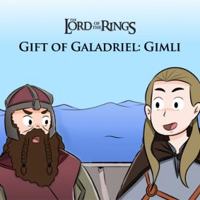 Lord of the Rings - Gift of Galadriel: Gimli