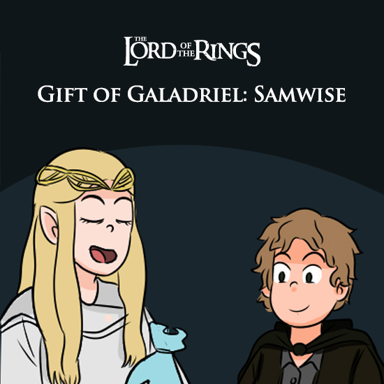 Lord of the Rings - Gift of Galadriel: Samwise Gamgee
